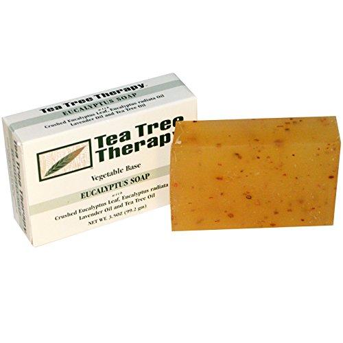 Tea Tree Therapy, Eucalyptus Soap, 3.5 oz (99.2 g) Bar - 2pc