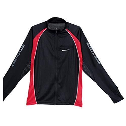 TACKLE in JAPAN (낚시 인 재팬) 전체 지퍼 셔츠 로고 블랙 No.193043 LL / TACKLE in JAPAN Full Zip Shirt Logo Black No.193043 LL