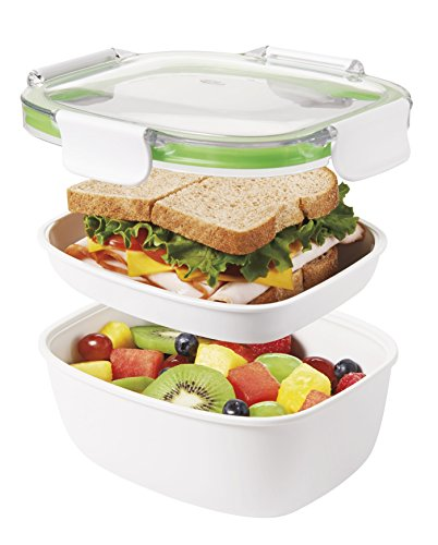 - OXO Good Grips Leakproof On-The-Go Lunch Container