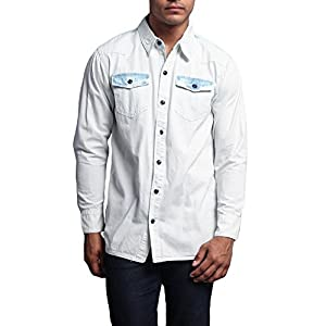 Victorious Denim Button Up Shirt – E5C