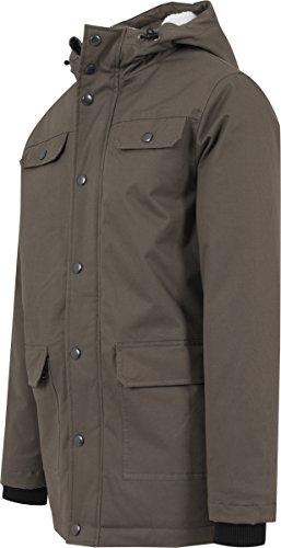 Parka Grün Classics para Cotton Hombre Olive 176 Urban Heavy Chaqueta nfq6qax