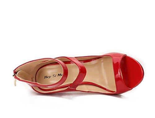 Mujer Sandalias Zapatos para Tac de vYw6qA