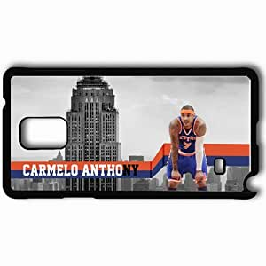 taoyix diy Personalized Samsung Note 4 Cell phone Case/Cover Skin 14647 carmelo anthony new york knick by mrfletch1000 d3isfpk Black