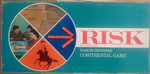Vintage 1968 Risk Board Game Parker Brothers Continental