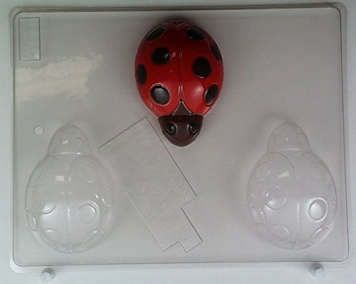 Large ladybugs AO130 All Occasion Chocolate Candy Mold