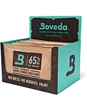 Boveda for Cigars/Tobacco | 65% RH 2-Way Humidity Control | Size 60 for Use with Every 25 Cigars a Humidor Can Hold | Patented Technology For Cigar Humidors | 12-Count Retail Carton