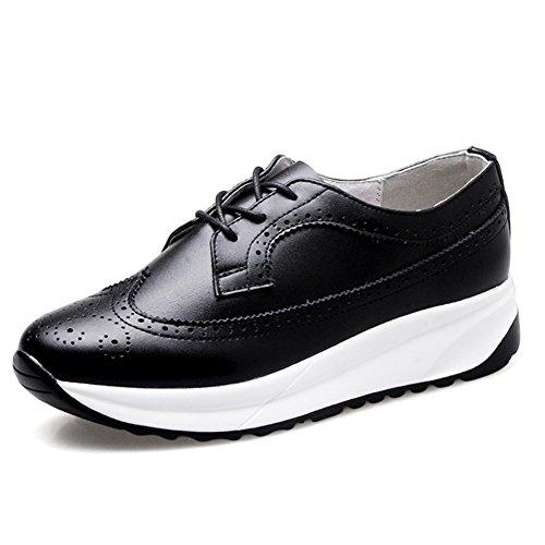Primavera Viento Zapatos Brock De Inglaterra,Suela Gruesa Zapatos Ocasionales,Manoletinas,Zapatillas De Deporte De La Mujer C