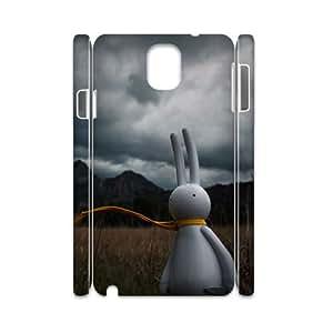 3D Rabbit adventure Samsung Galaxy Note 3 Case White