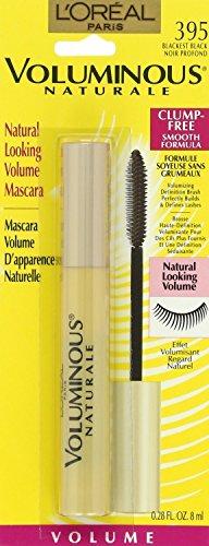 (3 Pack)-L'oreal Voluminous Naturale Mascara-395-Blackest Black