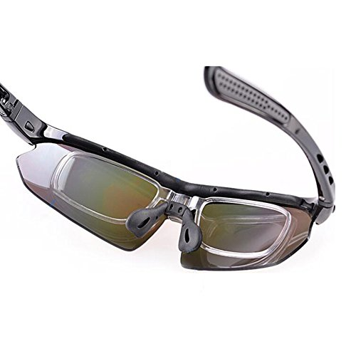 lunettes de soleil Polarized UV400 Sports Lunettes de soleil pour Outdoor Sports Driving Pêche Running Skiing Escalade Randonnée Convient pour les hommes et les femmes Vente bon marché (TJ-702) (A) rQqjBzj