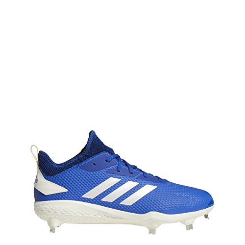 Adidas Adizero Afterburner V - Zapatillas de béisbol para Hombre, Collegiate Royal/Cloud White/Black, 12 M US