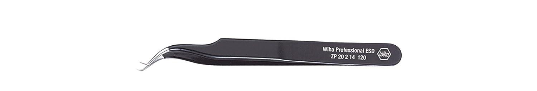 Wiha Spannungsprü fer 220-250 Volt Schlitz transparent, mit Ansteckclip in Blister (32201) 3,0 mm x 60 mm