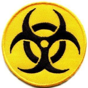 amazon com biohazard symbol sign danger poison toxic warning