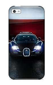 Anti-scratch And Shatterproof Bugatti Veyron Phone Case For Iphone 5c/ High Quality Tpu Case