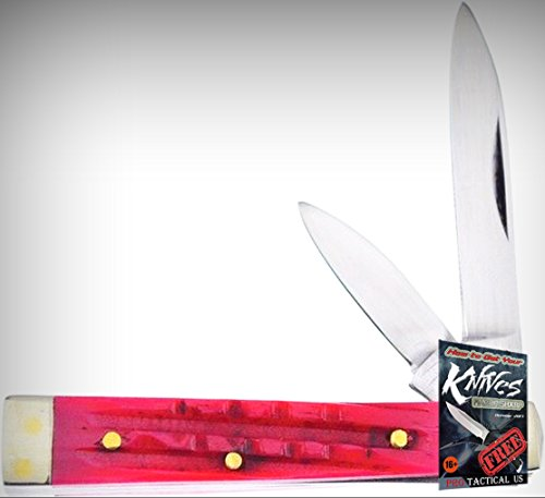 Frost 14-974RSC Baby Doc Mirror Finish Folding Limited Elite Knife W/2 Blades Folder + free eBook by ProTactical'US