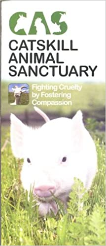 CATSKILL ANIMAL SANCTUARY SAUGERTIES, NEW YORK /TRAVEL BROCHURE