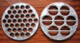 Metal Mold Ukrainian Vareniki + Russian Meat Pelmeni by Form for the Russian pelmeni