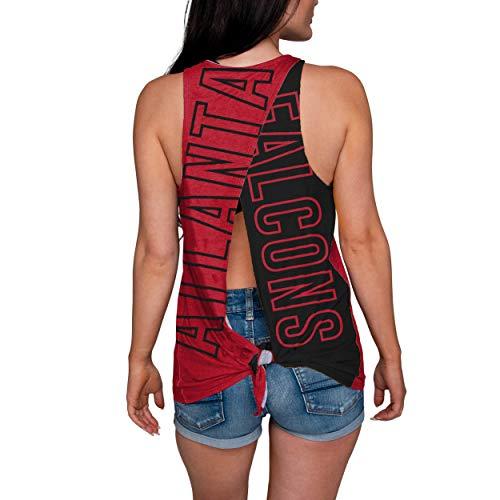 FOCO NFL Atlanta Falcons Womens Tie Breaker Tank Top ShirtTie Breaker Tank Top Shirt, Team Color, Small