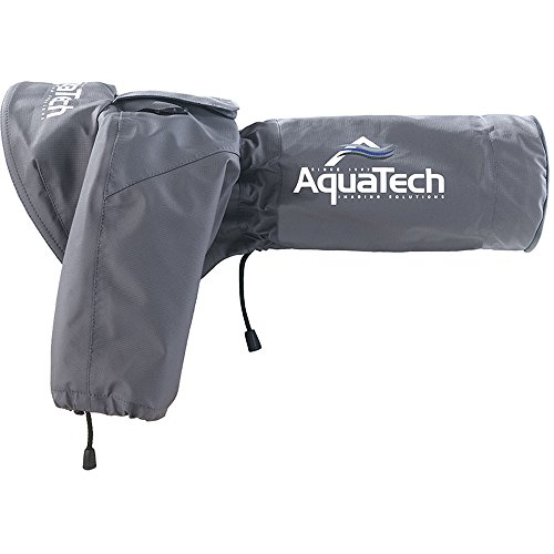 AquaTech Sport Shield Medium Rain Cover for Cameras and Lenses, Gray by AquaTech