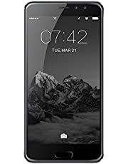 SIM Free Smart Phones, DING DING X9 4G 5.5 inch Ultra narrow HD screen with Android 7.0 MTK6737T Quad Core 3GB RAM+16GB ROM 2800mah Smartphone(Silver)