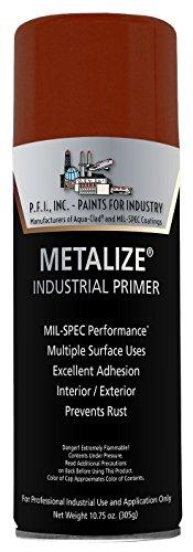 (Metalize Flat Red Oxide Industrial Primer Aerosol - 10.75 oz, (1 Can))