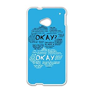 okay? okay. Phone Case for HTC One M7 by mcsharks