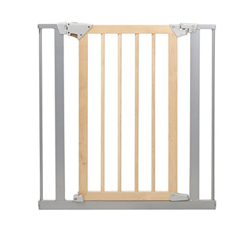 Tall Natural Wood (Baby Trend Tall Pressure Fit Wood and Metal Gate, Natural)