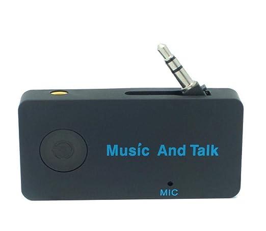LALAWO Bluetooth del Coche Receptor de Audio multifunción ...