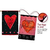 Cheap Valentines Day Welcome Flag Happy Valentines Day