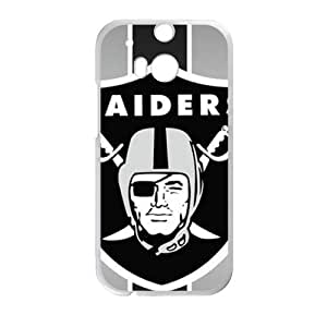 Raiders Logo Hot Seller Stylish Hard Case For HTC One M8