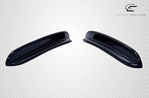 Carbon Creations Replacement for 2014-2015 Mercedes CLA Class Black Series Look Front Bumper Accessories - 4 Piece by Carbon Creations (Image #6)