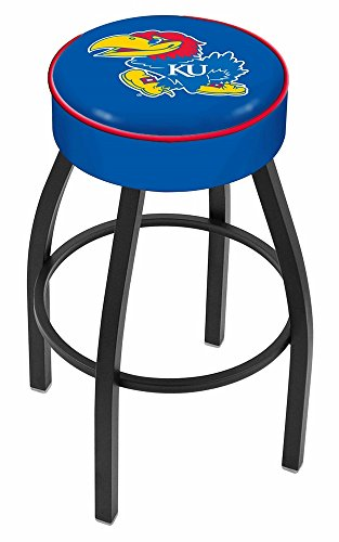 NCAA University of Kansas 30'' Bar Stool by Covers by HBS