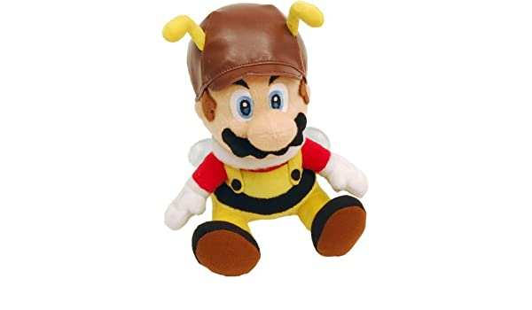 Amazon.com: Super Mario Galaxy 6 Inch Plush Figure Bee Mario: Toys & Games