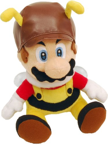 Super Mario Galaxy 6 Inch Plush Figure Bee Mario
