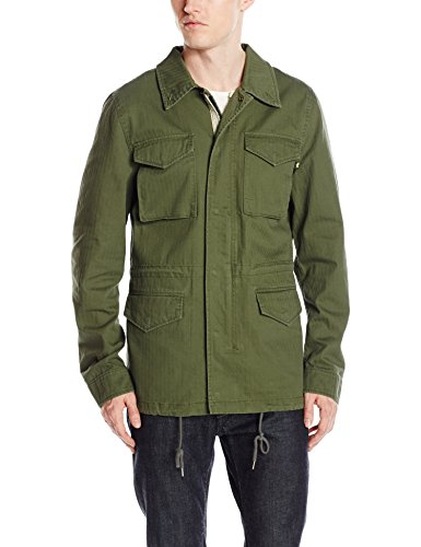 Alpha Industries Men's Revival Field Coat, Olive, M ()