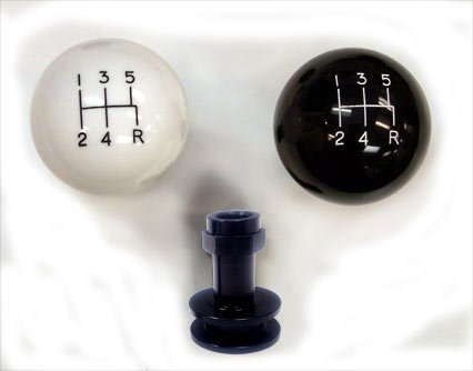 Shiftworks GT2-5 5-Speed GT Black Shift Knob & Boot Retainer (Mustang Shift Knob And Boot compare prices)