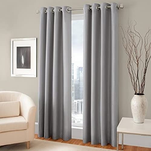 navy and gray curtains white amazoncom gorgeous home different solid colors sizes 72 panel thermal foam lined blackout heavy thick window curtain drapes bronze grommets silver navy blue and gray curtains for your living room