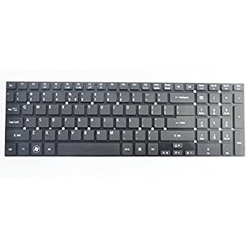 Eathtek Replacement Keyboard Without Frame For Acer Aspire V3 551 551G 571 571G 731 771 771G 772 772G Black US Layout