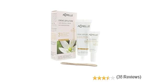 Acorelle, Crema depilatoria para rostro y zonas sensibles, de 75 ml: Amazon.es: Salud y cuidado personal