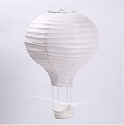 """Hot Air Balloon Model Black /& White 13/"""" Aviation Hanging Ceiling Home Decor New"""