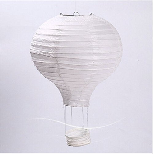 White Balloon Hot Air - Worldoor 12''30cm/16
