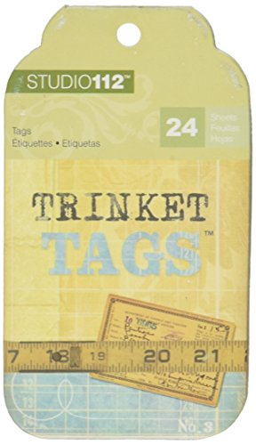 & Company K Pad Tag (K&Company EK Success Trinket Tag Pads)