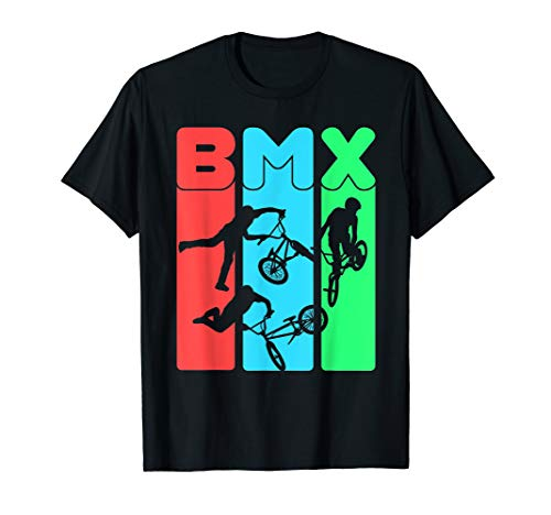 Eat Sleep BMX Repeat T-Shirt Bicycle Funny Gift ()