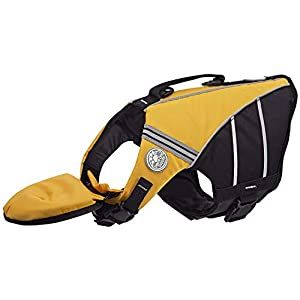 Doggles Dog Flotation Jacket, XS, Yellow Click on image for further info.