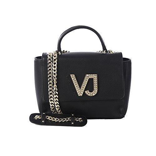 Tracollina Versace Jeans con dettagli in catena E1VRBBC670034 Nero
