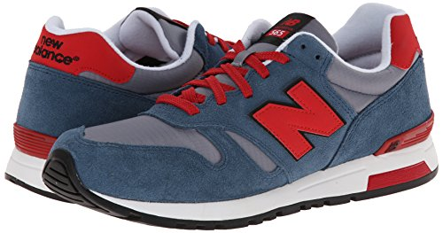 888546361058 - New Balance Men's Ml565 Lifestyle Running Shoe,Blue/Red, 10.5 D US carousel main 5