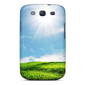 New Style Superface Grass Click At Link To Green Premium Tpu Cover Case For Galaxy S3