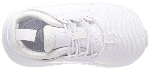 adidas Unisex Baby X_PLR El Sneaker Weiß (Footwear White/Footwear White)