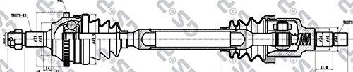 GSP 245012 Antriebswelle GSP Automotive Group Wenzhou Co. Ltd.