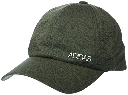 adidas Women's Sport2street Relaxed Adjustable Cap, Raw Khaki/Legend Ivy/White, One Size
